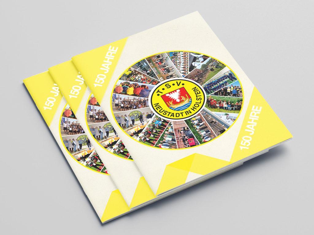 Broschüre zum 150-jährigen Vereinsjubiläum des TSV Neustadt